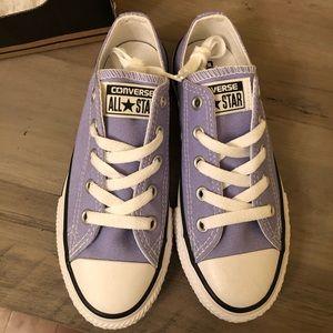 Girls Lavender Converse Size 13Y NWT